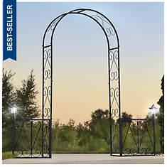 Lighted Garden Arch