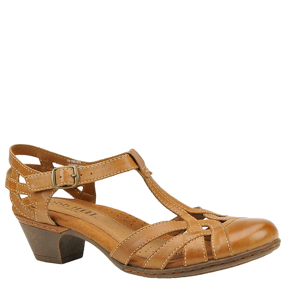 70s Outfits – 70s Style Ideas for Women Rockport Cobb Hill Collection Aubrey Womens Tan Sandal 6.5 W $99.95 AT vintagedancer.com