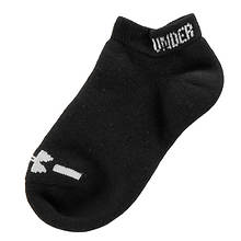 Under Armour Boys' 6-Pack Charged Cotton(R) No Show Socks