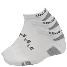 Under Armour Heatgear(R) No Show Socks 3 pk (men's)