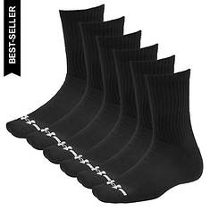 Under Armour Charged Cotton Crew Socks 6 pk (Men's)