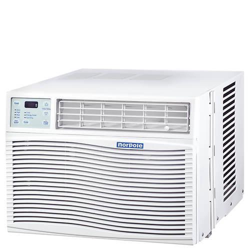 norpole 10 000 btu window air conditioner stoneberry. Black Bedroom Furniture Sets. Home Design Ideas