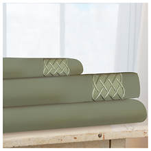 Love Knot Microfiber Sheet Set