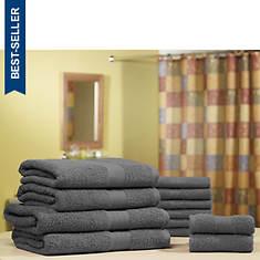 Pure Cotton 12-Piece Jumbo Towel Set