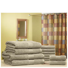 Pure Cotton 12-Piece Jumbo Towel Set