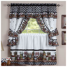 Printed Cottage Window Set