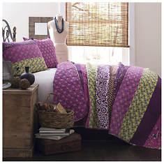 Lush Décor - Royal Empire 3-Piece Cotton Quilt Set
