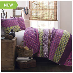 Lush Décor - Royal Empire 3-Piece Cotton Quilt Set