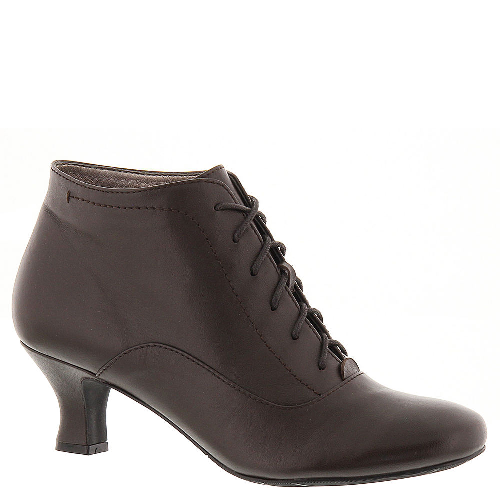 Retro Vintage Style Wide Shoes ARRAY Sam Womens Brown Boot 10.5 D $59.99 AT vintagedancer.com