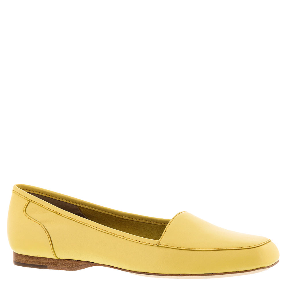 Buy WIDE shoes in 1920s, 1930s, 1940s, 1950s styles? ARRAY Freedom Womens Yellow Slip On 10.5 W $79.95 AT vintagedancer.com
