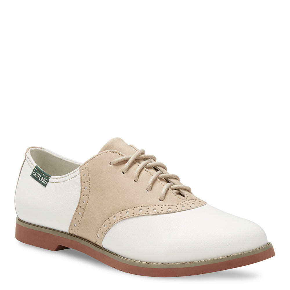 1950s Style Shoes Eastland Sadie Womens Tan Oxford 11 M $84.95 AT vintagedancer.com