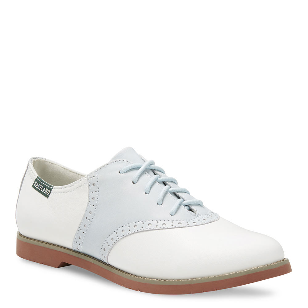 1950s Style Shoes Eastland Sadie Womens Blue Oxford 8 M $84.95 AT vintagedancer.com