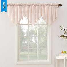 Erica Crushed Voile Valance - Opened Item