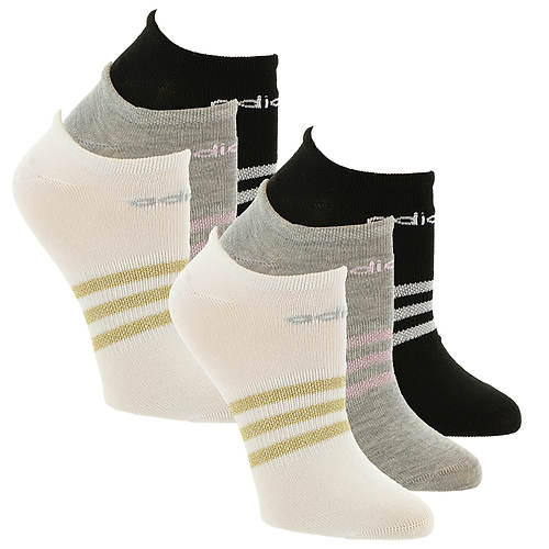 Adidas Women's Superlite 6-Pk No Show Socks
