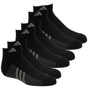 adidas Boys' Graphic 6-Pack Low Cut Socks