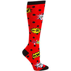 Sock It To Me Women's Knee High Blamo!!! Socks