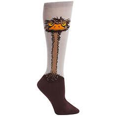 Sock It To Me Women's Ostrich Knee High Socks