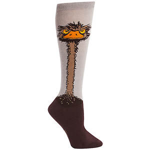 Sock It To Me Women's Ostrich Knee High Socks