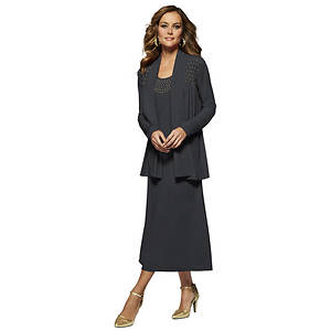 Studded Jacket Dress