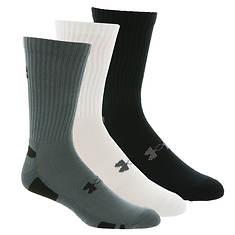Under Armour Heatgear Crew Socks 3-pk (Men's)
