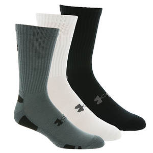 Under Armour Heatgear Crew Socks 3-pk (Men's)