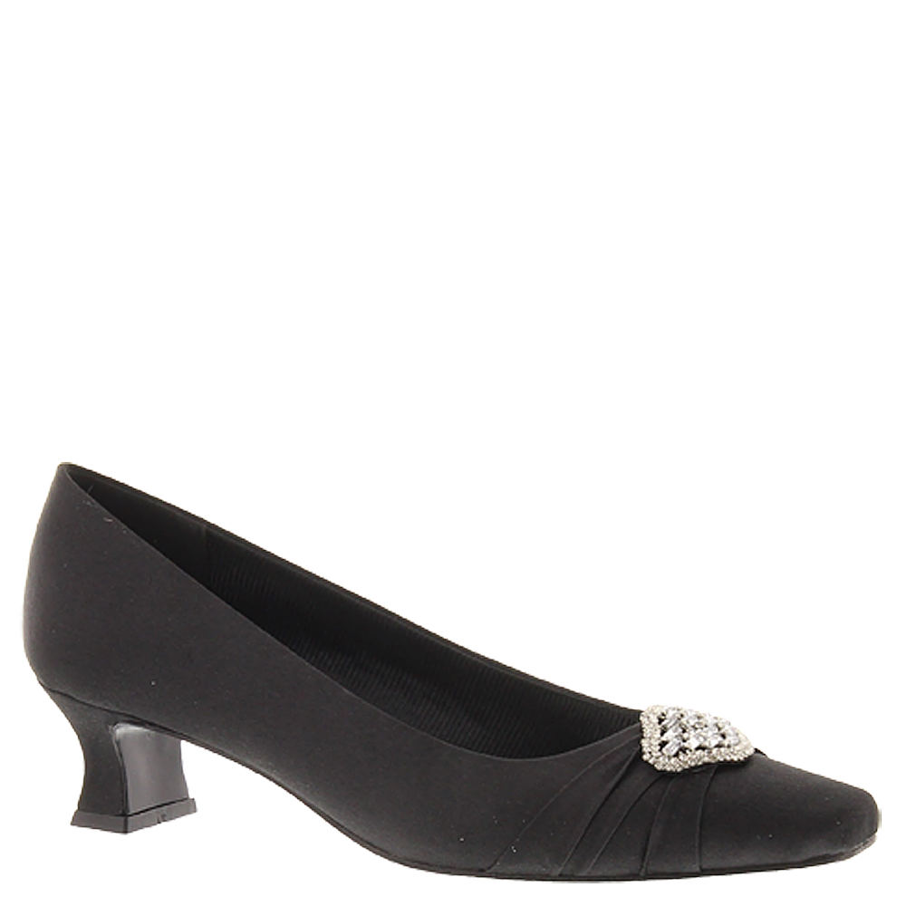 History of 1920s Fashion: Shoes Easy Street Mystery Womens Black Pump 10 W  $30.99 AT