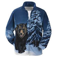 Unisex Animal-Print Jacket