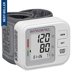 SmartHeart Blood Pressure Wrist Monitor