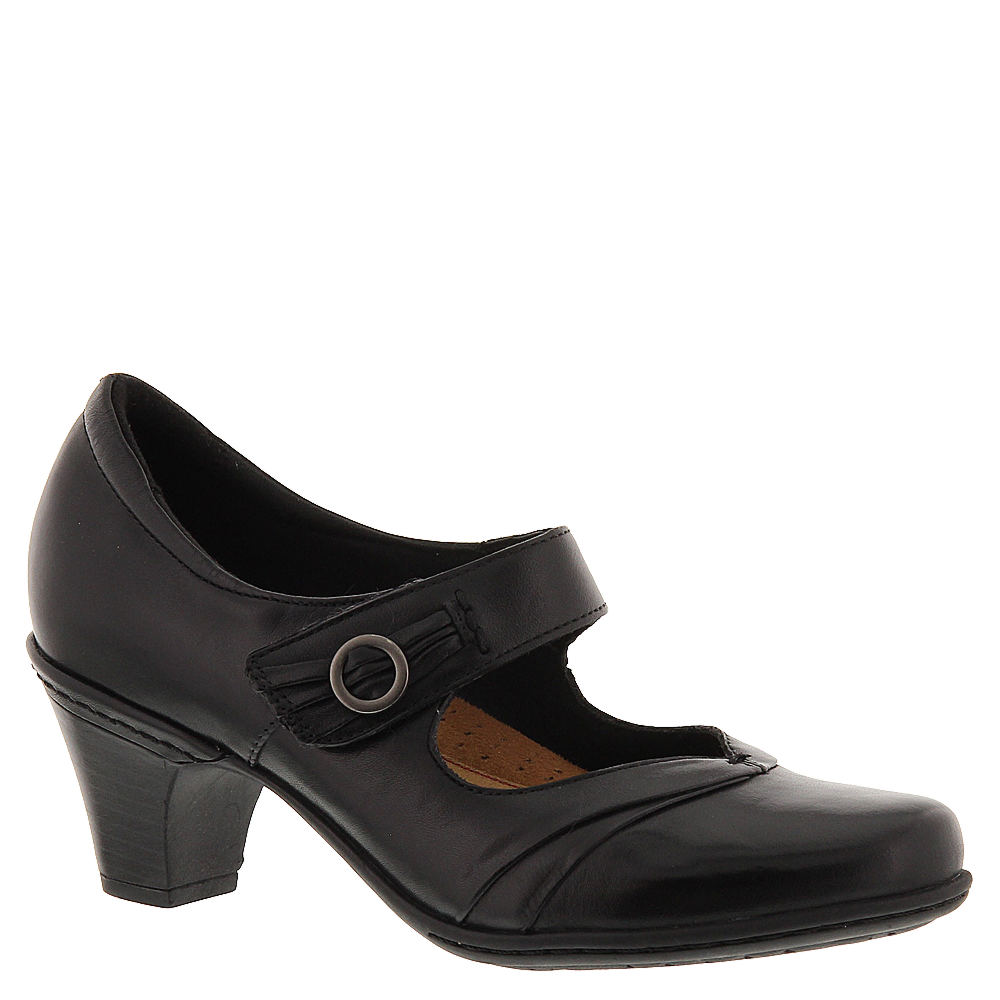 1920s Style Shoes Rockport Cobb Hill Collection Salma Womens Black Pump 6.5 W $83.99 AT vintagedancer.com