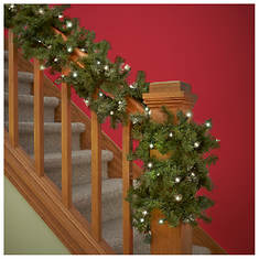20-ft. Lighted Garland - Opened Item