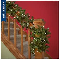 20-ft. Lighted Garland