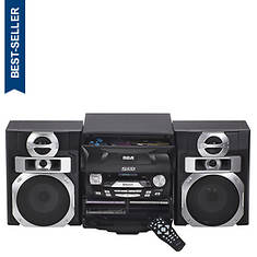 RCA® 5-Disc CD/FM Audio System