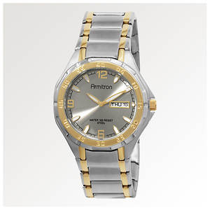 Armitron Men's Two Toned Day/Date Watch