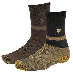 Timberland TM31369 10-inch Wool Blend Boot Socks 2-pack