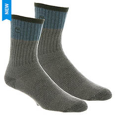 Timberland TM31192 Acrylic Wool Blend Crew Socks 2-pack