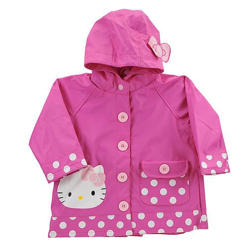 Western Chief Girls' Hello Kitty Cutie Dot Raincoat