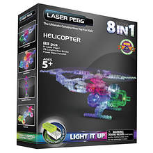 Laser Pegs 8-in-1 Helicopter Set