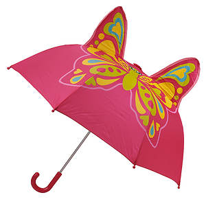 Western Chief Girls' Butterfly Star Umbrella