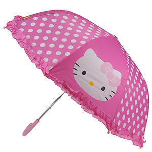 Western Chief Girls' Hello Kitty Cutie Dot Umbrella