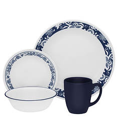 Corelle® True Blue Livingware 16-Piece Dinnerware Set