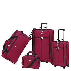 Travelers Club Genova 4-Piece Luggage Set