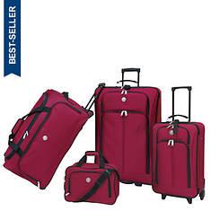 Travelers Club Genova 4-Piece Luggage Set