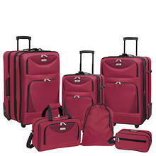Travelers Club Skyview 6-Piece Luggage Set