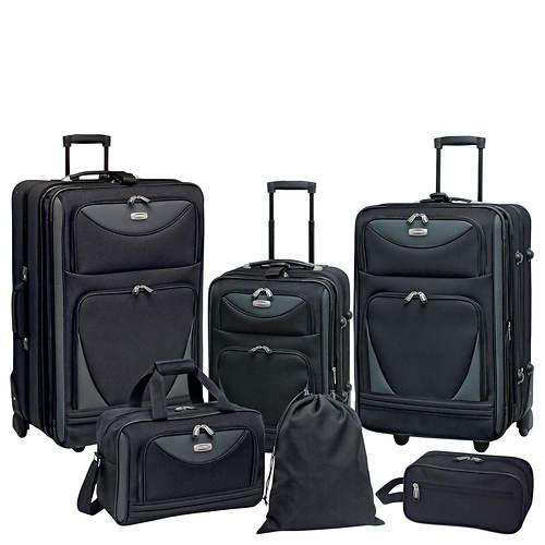 Travelers Club Skyview 6-Piece Luggage Set