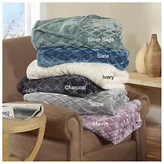 Ardour Embossed Velvet Blanket