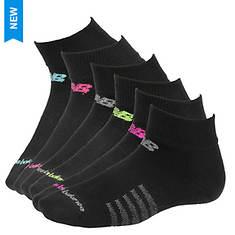 New Balance N5040-364-6 Quarter Socks 6-pack (Women's)