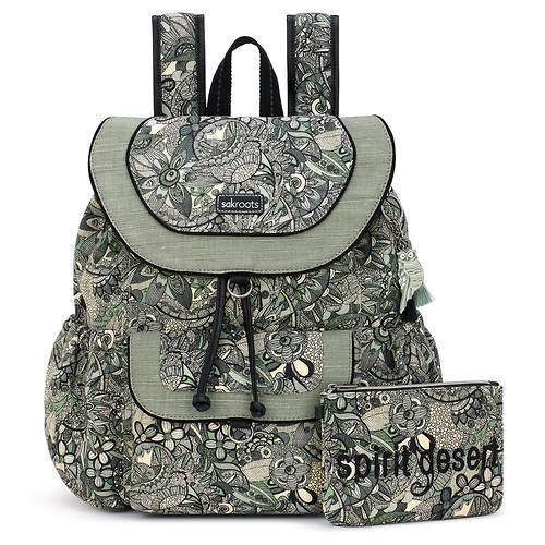 Sakroots Flap Backpack