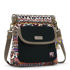 Sakroots Artist Circle Flap Crossbody Bag