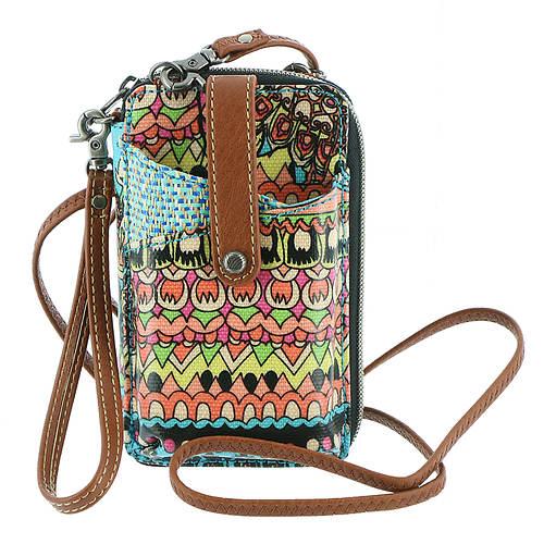 Sakroots Smartphone Wristlet Bag