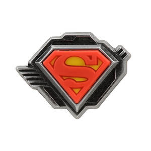 Jibbitz SUP Superman Shield Logo (Boys')